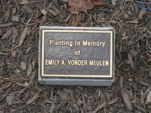 Emily Tree Embshoff Plaque